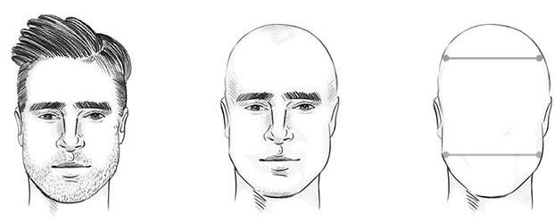 الوجه البيضاوي