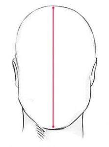 قياس طول الوجه