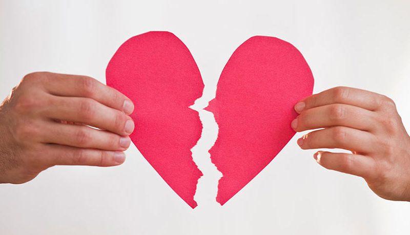 انهاء علاقة حب