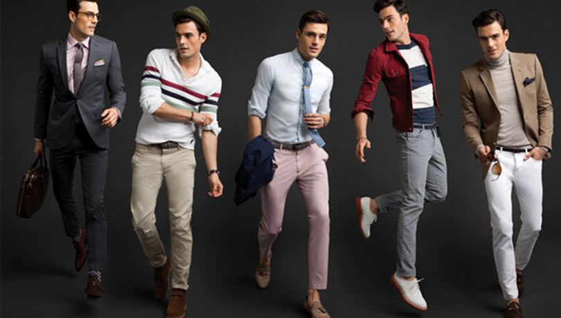 تنسيق ملابس الرجال حسب شكل الجسم