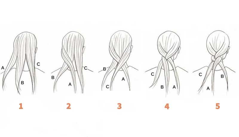 تسريحات شعر : 10 تسريحات يمكنك عملها بنفسك بالمنزل .